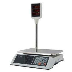 Торговые весы M-ER 327ACP LED (PLCD) платформа 325 x 230 мм
