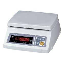Порционные весы CAS SW II НПВ=2,5,10,20,30 кг, аккумулятор