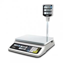 Торговые весы CAS PR-II-P со стойкой НПВ=15,30 кг