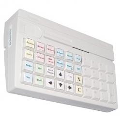 POS-клавиатура Posiflex KB-4000U c ридером магнитных карт на 1-3 дорожки