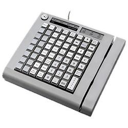 POS-клавиатура ШТРИХ КВ-64RК с ридером магнитных карт на 1-2 дорожки